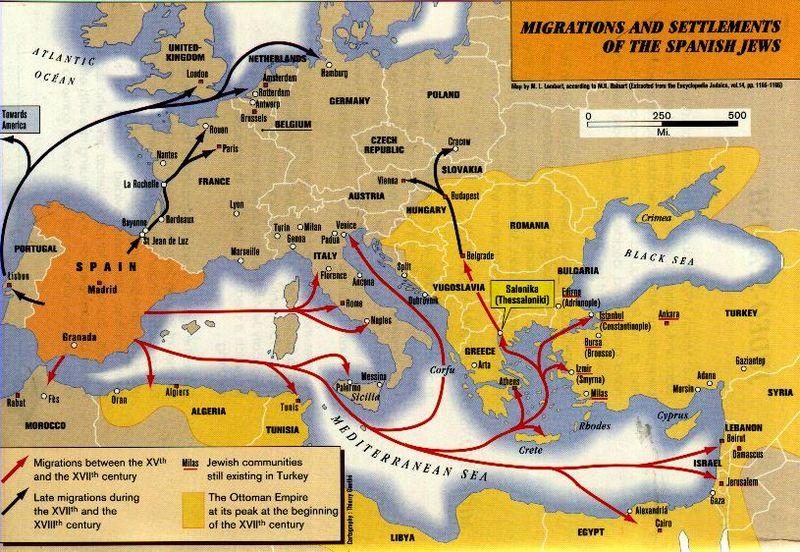 13 gli ebrei sefarditi alle Canarie fonte wikipedia