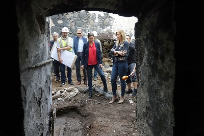 Santa Cruz análisis arqueológico de la batería de San Francisco (2)