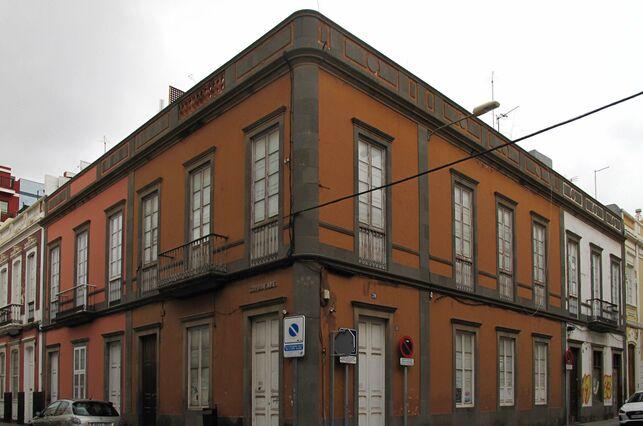 GRAN CANARIA Los colores del barrio de Arenales se estudian desde Roma